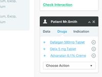 Patient widget