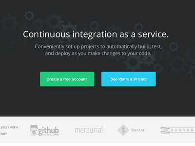 Drone.io blue cogs open sans website design interface icons teal turqoise helvetica clean