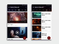 World of Warcraft-Material Design-HD Video &  Fiction