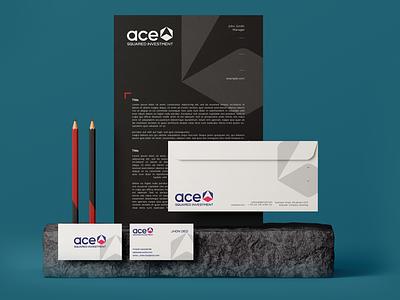 Ace Brand Identity system modern design illustration branding corporate branding brand design brand identity brand logo