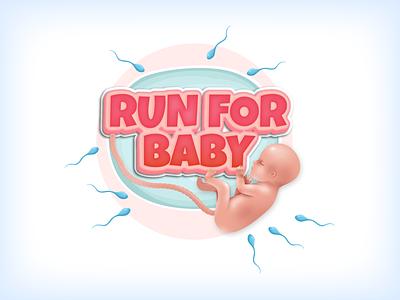 Run for baby gamedesign game minimal design run baby illustraion ui design uiux ui