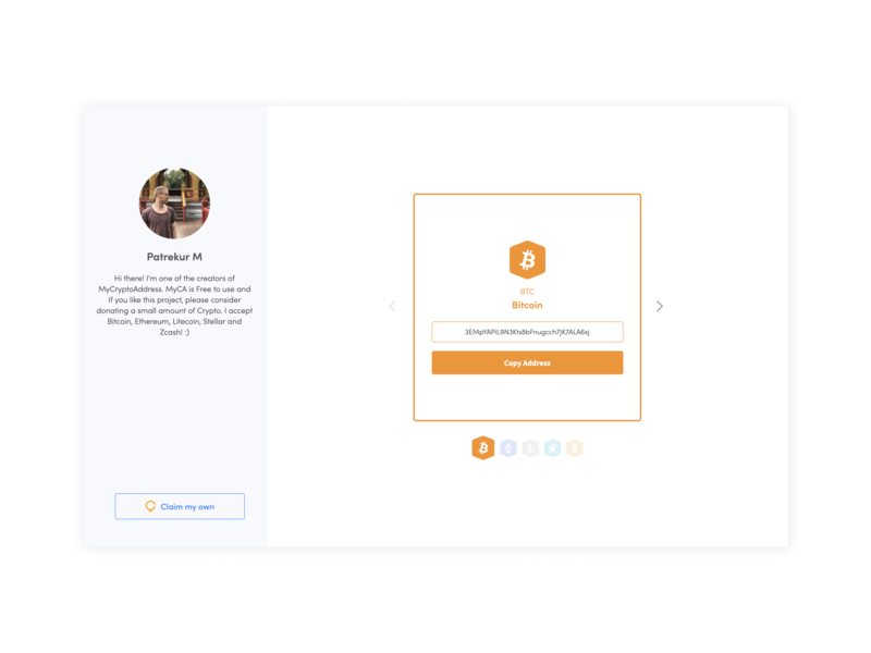 My crypto profile looks like this! flat branding ui ux design website illustration