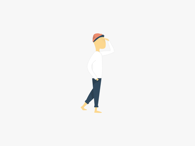 Are you lost? vector logo illustration website design look see person man 404 lost type