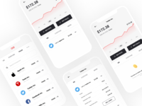 Gatsby ui ux design branding app sell buy traiding stocks
