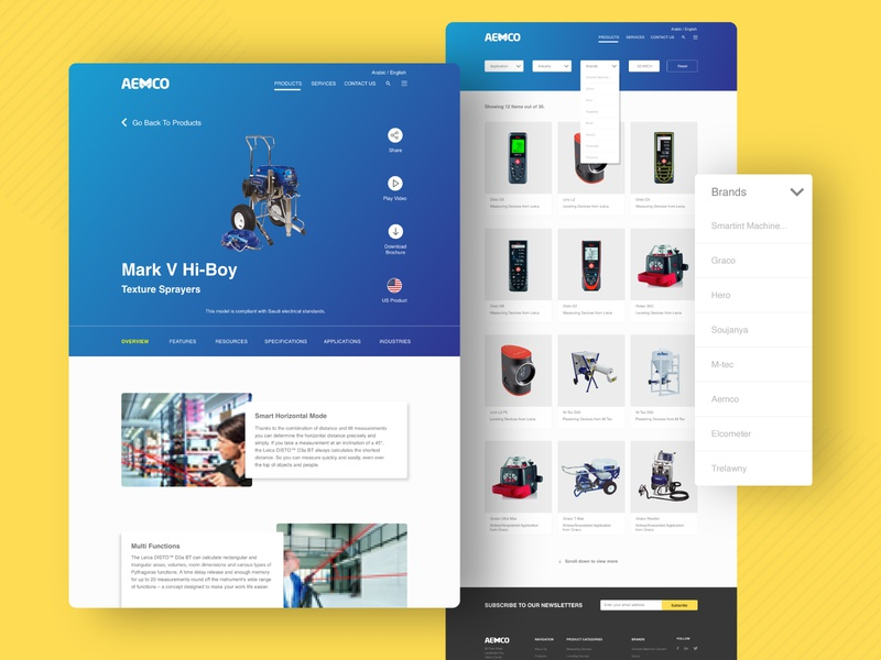 AEMCO branding design website design products web design productsite logo typography mobile designs app creativity branding illustration ux ui design