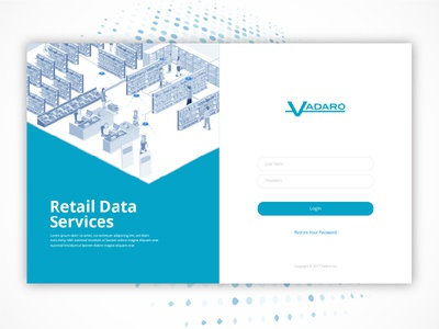 For Vadaro designs visualdesign illustrations isometric ux ui