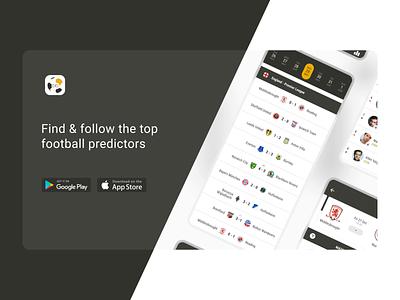 Bookbreakrs Application bet bookbreakrs mobile app landing mobile animation uiux soccer app football