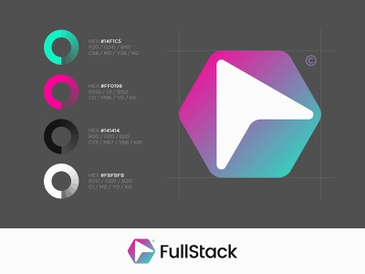 Fullstack adobe illustrator brand identity brand branding identity design identity mark logo designer logo design logo