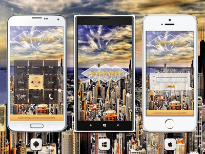 📱 Business Mobile App For Android, iOS And Windows Phone