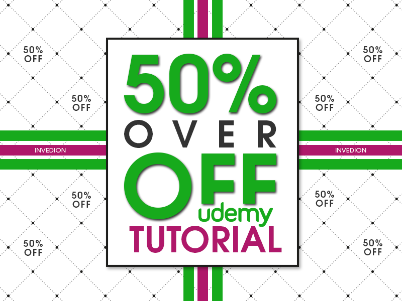 💰 Udemy Discount - Over 50% OFF On Course / Tutorial by