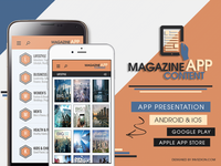📚 Magazine Books Newspaper Content App For Android iOS