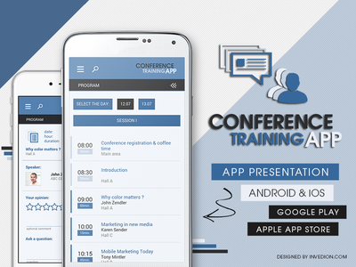 💬 Conference Event Training App Android & iOS