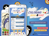 Coloring Book For Kids Android & iOS Mobile App