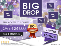 📢 2 Free Months of Premium Access to 24,000 Courses
