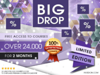 2 free months premium access to 24000 courses