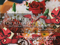 💐 International Women's Day Wishes [ March 8, 2019 ]