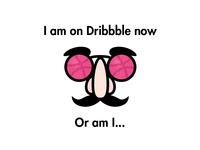 I am on Dribbble now