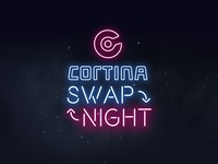 Campaign logo Cortina Swap Night