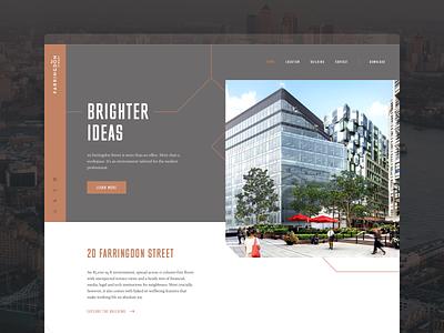 20FS lines technical ux city workspace office development design web design web ui website