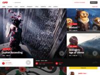 Csfd redesign homepage desktop