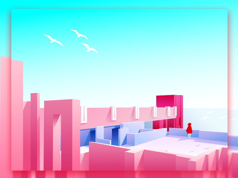 Monument Valley Realistic illustration 3