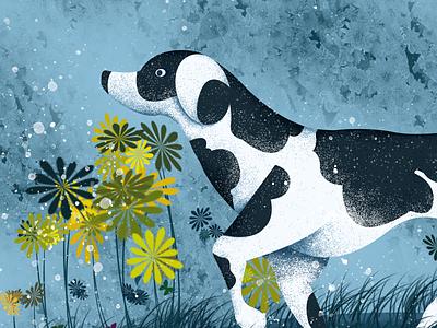 Chinese Year-Dog year-illustration illustrations,dog