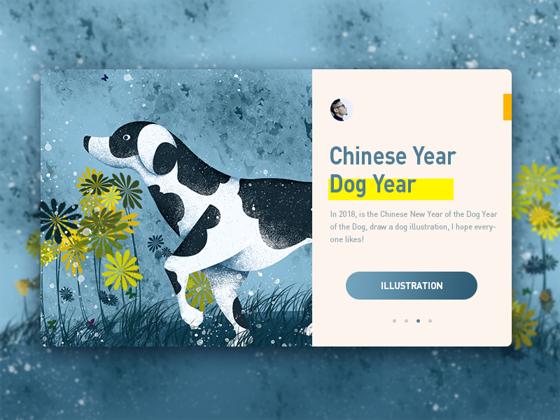 Dog-website-illustrator