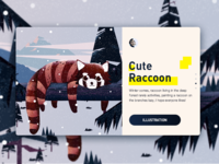 Cute-Raccoon-Animal website