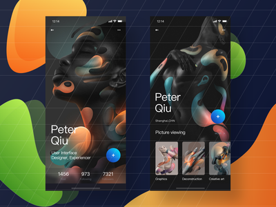 Social media APP-User Interface Design creative  design graphicsdesign ui app uiux ui