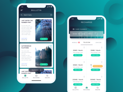 Information - top up App