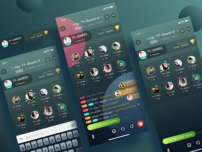 Fish ear-Voice social app/Optimized upgrade plan chat chatroom voice over voice social voice emotion