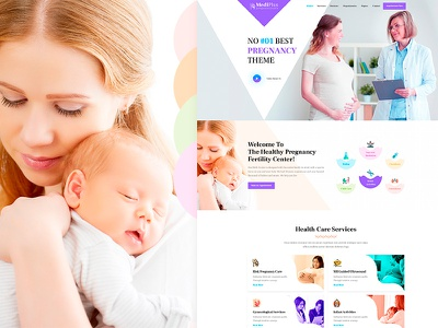 Mediplus - Family Planning Clinic PSD Template women center care  women pregnant pregnancy medical maternity hospital health gynecology gynecologist doctor clinic beauty baby