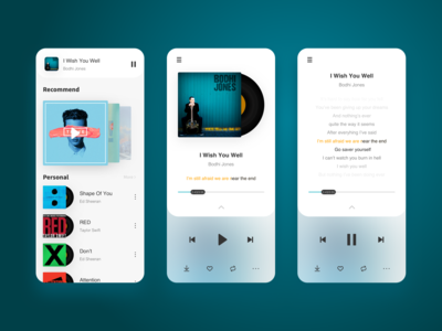 #Daily UI#Music Player