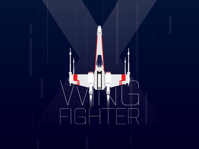 X-Wing Poster, iPhone & MacBook Retina Wallpaper