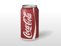 Vector Coca-Cola Can (updated)