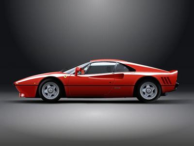 Ferrari 288 GTO (In Vectors) fireworks illustration vector ferrari gto car vectors