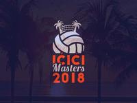 Ičići Masters 2018 - Logo Design & Art Direction