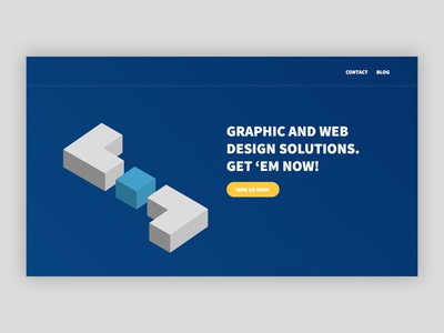 Petox Design - Landing Page css html art direction illustration isometric petox design landing page design landing page web design