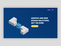 Petox Design - Landing Page