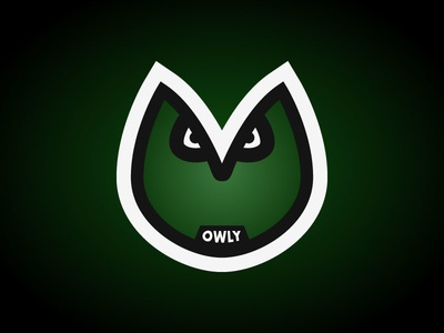 Owly - The Reliable Owl green owly owl character design character flat design illustration