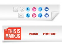 Header Icons & Logo (thisismarkus.com)