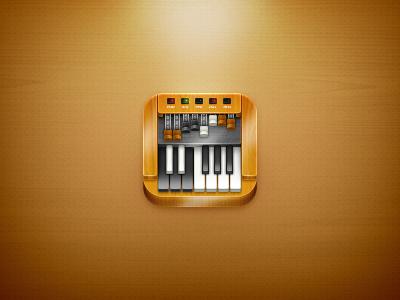 Hammond Organ iPhone 4 icon
