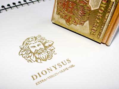 Dionysus stamp 1
