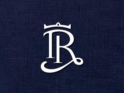 TR - Revised mono logo identity branding type monogram