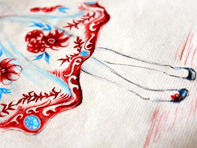 Dress Illu - detail 2