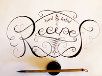 Recipes - Ink & Brush