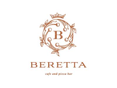Beretta vector illustration sketch monogram logo