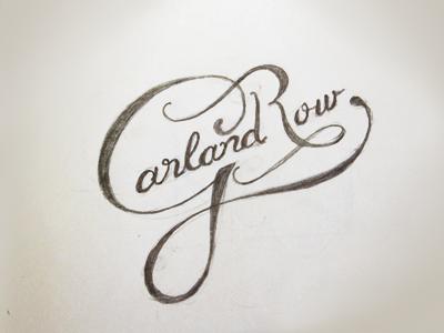 GR Sketch logo lettering logotype typography hand drawn sketch