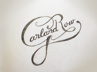 GR Sketch logo lettering logotype typography hand drawn sketch