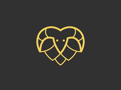 Beránek vector graphic design beer brand icon symbol logo